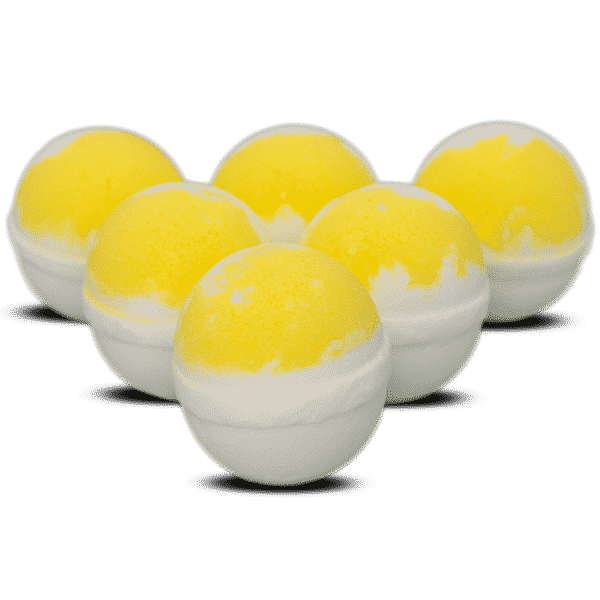 Lemon Sunrise Bath Bombs