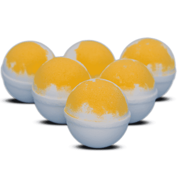 Orange Dreamsicle Bath Bomb