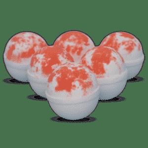 Ruby Red Grapefruit Bath Bombs
